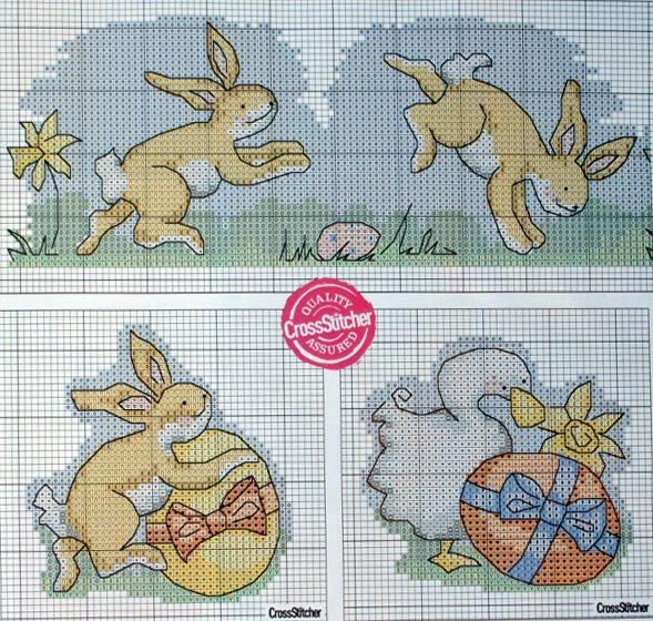 Пасхальные кролики: